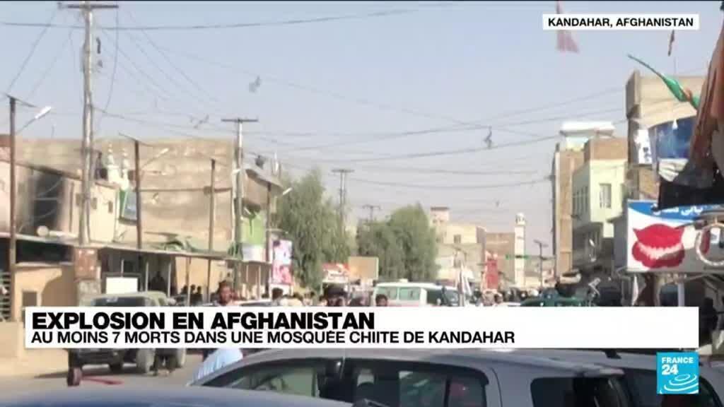 2021-10-15 12:06 Afghanistan : plusieurs morts dans l'explosion d'une mosquée chiite à Kandahar
