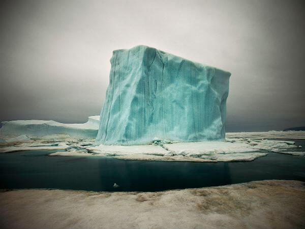 Iceberg, Qaanaaq, Groenland du Nord