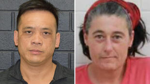 Missing tourists Phu Tran (L) and Claire Hockridge. Australian police said on December 3 they had found Tran, who had been missing in the country's outback south of Alice Springs for weeks.