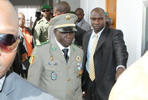 Le général Amadou Sanogo le 13 février 2013 à Koulouba