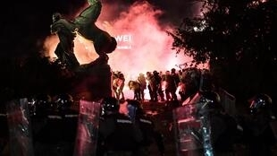 Serbia's attempt to reintroduce a lockdown in the wake in a surge of virus cases led to violent protests
