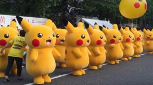 Tout ces pikachus, c'est quand même un peu flippant.