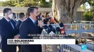 2020-05-20 11:01 Covid-19 : le Brésil dépasse les 1 000 morts par jour