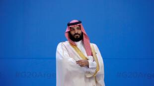 ولي العهد السعودي الأمير محمد بن سلمان في الأرجنتين. 30 نوفمبر/تشرين الثاني 2018.
