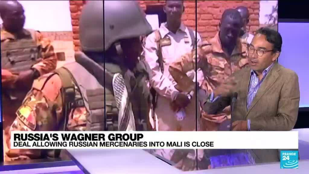 2021-09-14 12:04 Russia's Wagner group: Deal allowing Russian mercenaries into Mali is close