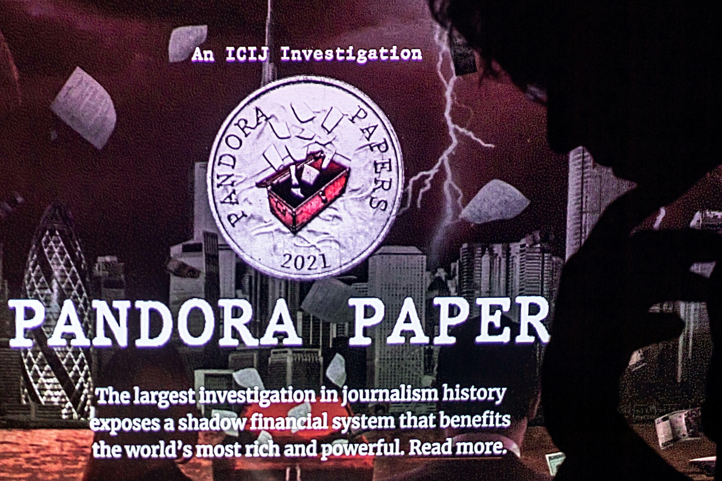 The Pandora Papers came from a massive leak of documents