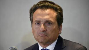 Emilio Lozoya, expresidente de la estatal de pretróleos mexicana Pemex. 17 de agosto de 2017.