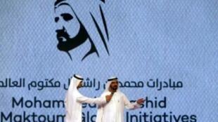 - حاكم إمارة دبي الشيخ محمد بن راشد في 4 تشرين الأول/أتوبر 2015