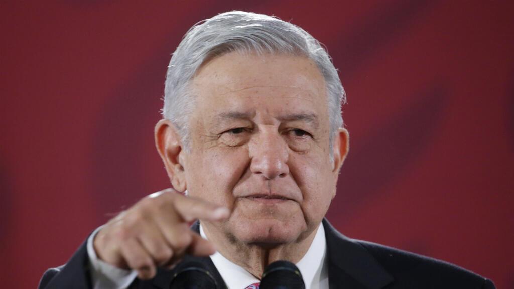 El presidente de México, Andrés Manuel López Obrador, dio una rueda de prensa previo a su homólogo electo de Argentina en Ciudad de México este 4 de noviembre de 2019