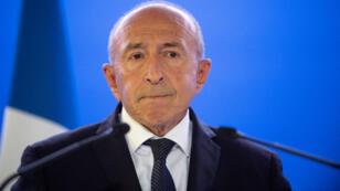 Gérard Collomb à Grenoble, le 28 septembre 2018.