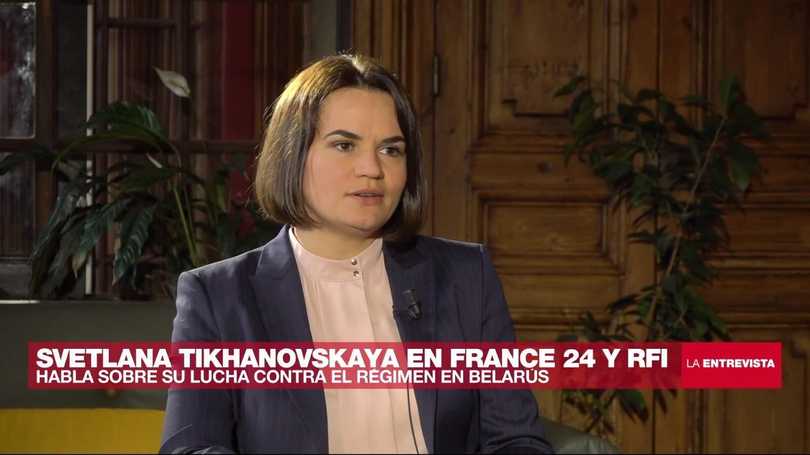 La Entrevista - Svetlana Tikhanovskaya