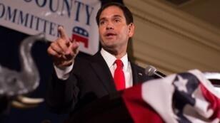 Le sénateur Marco Rubio a été réelu en Floride, mardi 8 novembre 2016.