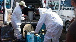 Operativos contra la peste en Madagascar