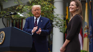 Donald Trump - Amy Coney Barrett