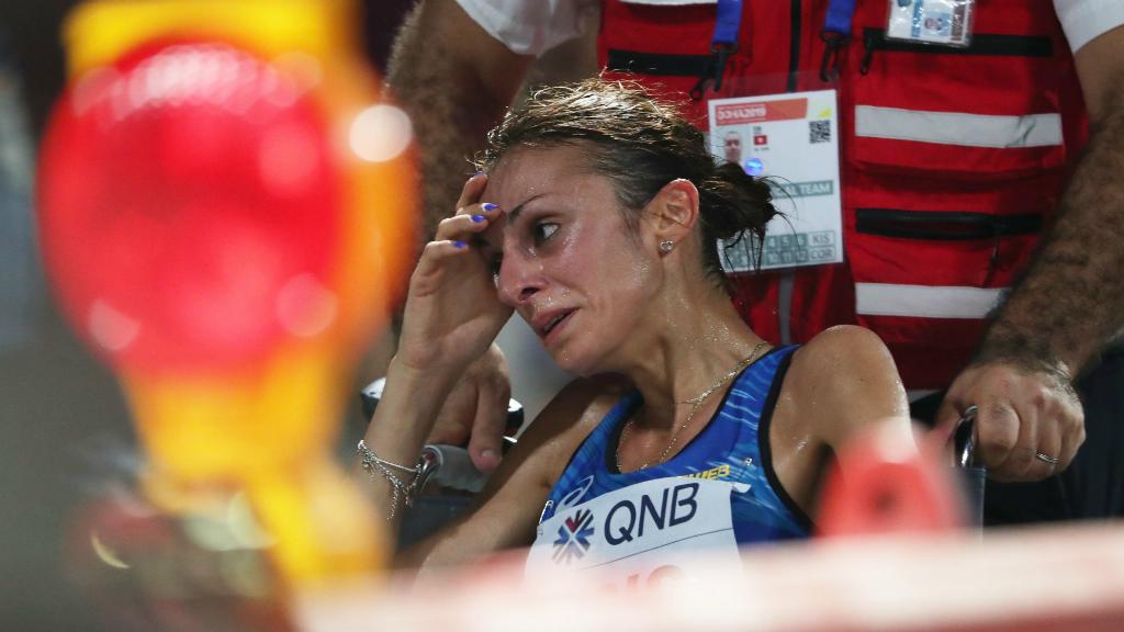 La carrera tuvo lugar durante la madrugada y las corredoras podían ingerir una pastilla con termómetro con la que monitorizar el estado de salud.