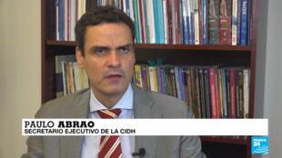Paulo Abrao, secretario ejecutivo de la CIDH.