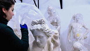 Restorers have spent years working on the Torlonia marbles