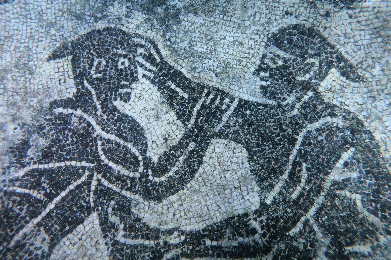 Aujourd'hui parc archéologique sous-marin près de Naples, les nobles de Rome ont été attirés pour la première fois au IIe siècle av. J.-C. par les sources chaudes de Baiae.