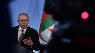 Ramtane Lamamra a été nommé le 11mars2019 vice-Premier ministre et ministre des Affaires étrangères.