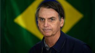 Le candidat Jair Bolsonaro à Rio, le 7 octobre 2018.