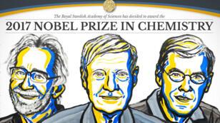 Les trois scientifiques ont mis au point une méthode révolutionnaire d'observation des molécules.