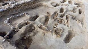 موقع اكتشاف رفات الأطفال الذين قدموا كأضاح للآلهة إبان حضارة تشيمو