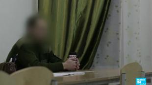 Un chef paramilitaire qui conseille des Russes souhaitant combattre avec l'armée syrienne a accepté une interview avec France 24.