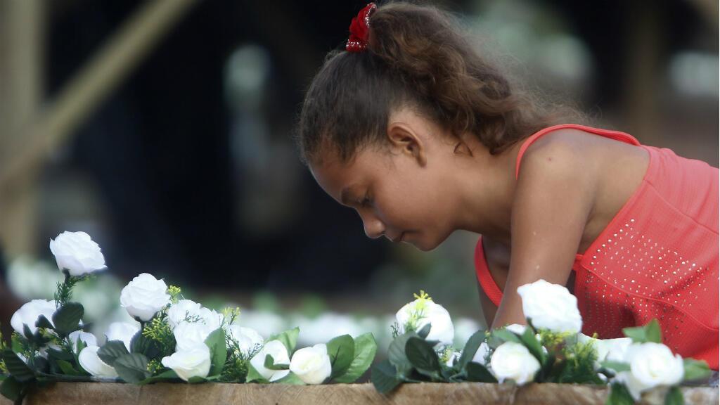 En la masacre de Bojayá el 2 de mayo de 2002 murieron al menos 45 niños, según la Unidad de Víctimas de Colombia.