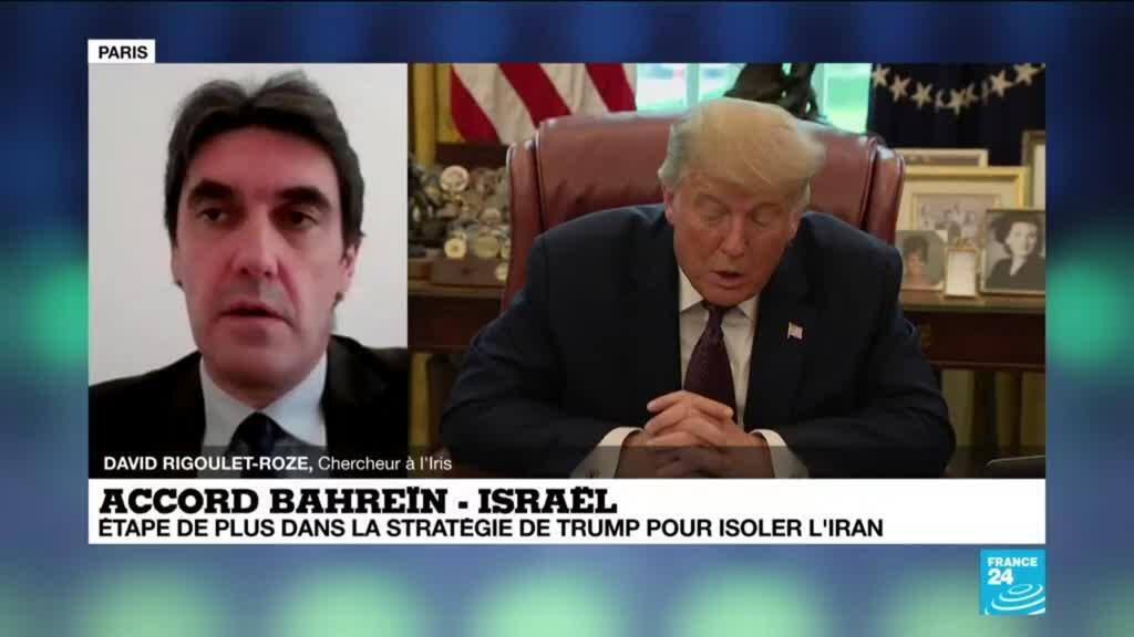 2020-09-12 14:02 Accord Bahrein-Israel : normalisations des relations