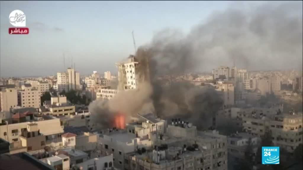 2021-05-13 14:01 Conflit israelo-palestinien : violences les plus intenses depuis 7 ans