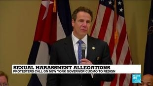 2021-03-03 13:14 New York Governor Cuomo avoids public amid outcry over harassment allegations