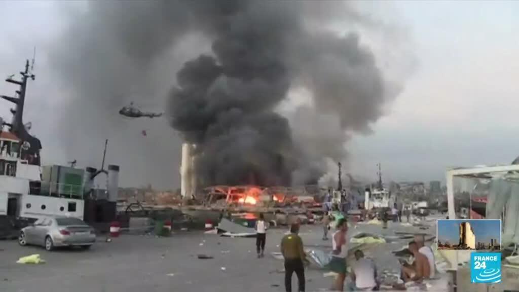 2021-08-04 17:01 Explosion à Beyrouth, un an après : rappels des faits EN IMAGES