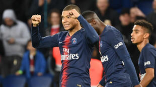Kylian Mbappé, atout majeur du PSG en l'absence de Neymar et Cavani.