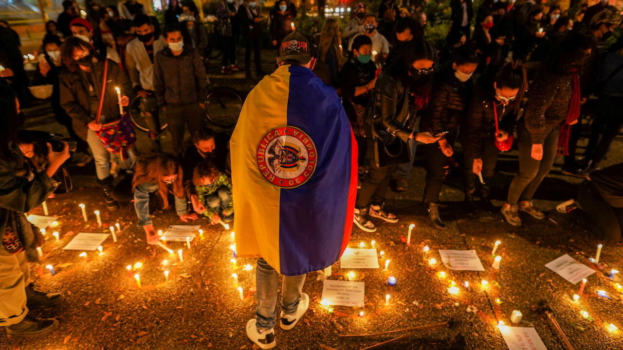 Colombian govt invites protest leaders to talks as mass demonstrations continuegoogle-play-badge_EN