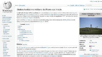 La page Wikipédia incriminée