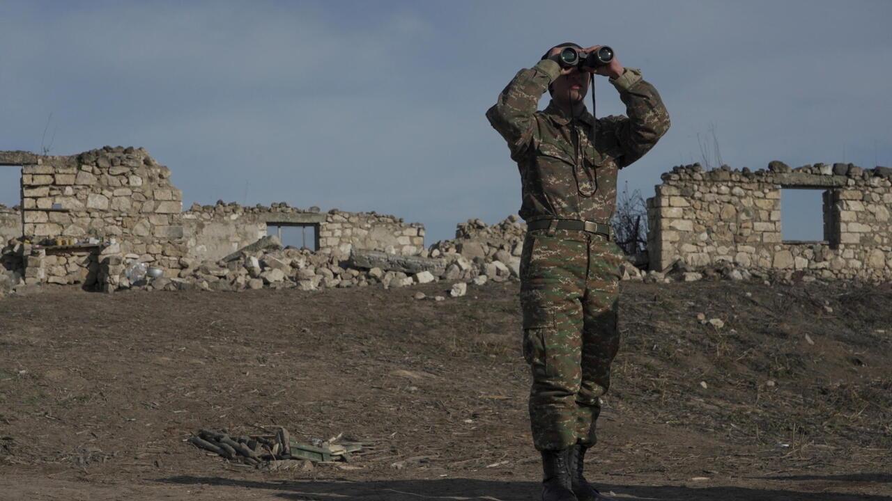 Armenia says Azerbaijan has detained six servicemen at border