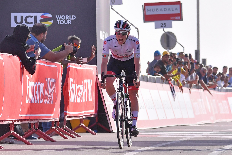 Tadej Pogacar est l'une des étoiles montantes du cyclisme.