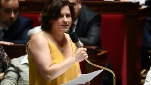 La ministre des Sports Roxana Maracineanu à l'Assemblée le 9 juillet 2019