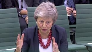 Image d'archive de Theresa May, le 29 novembre 2018.