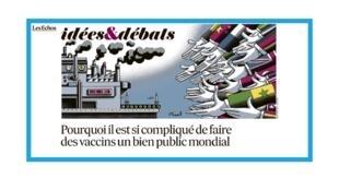 Le vaccin, un bien public mondial?