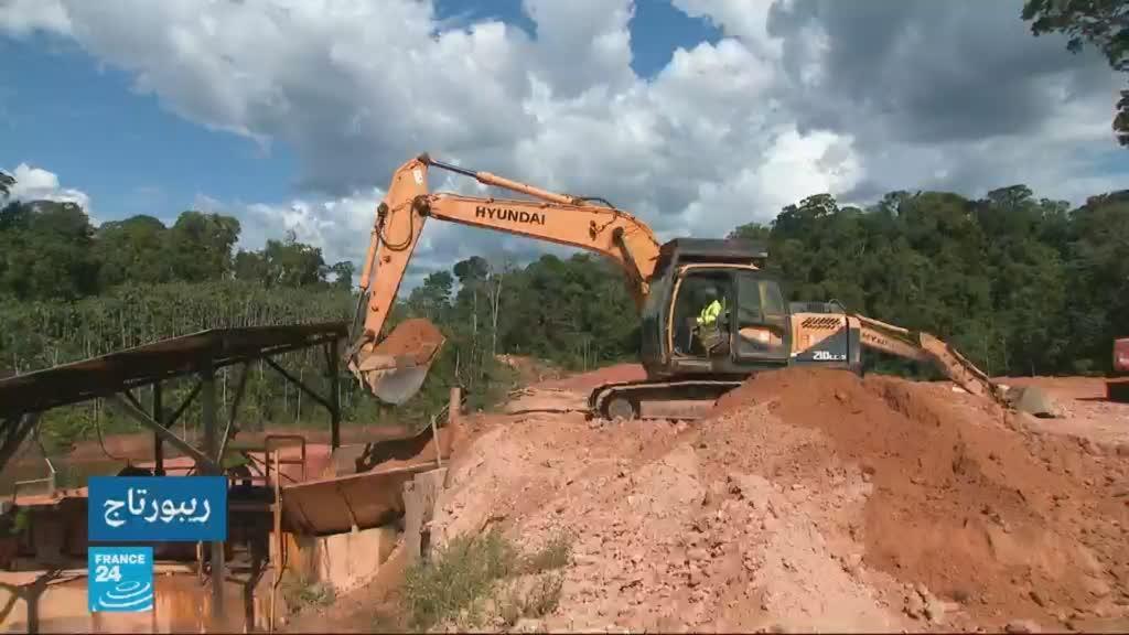 2019-11-28 06:22 الذهب على حساب الأشجار في غويانا / في عمق الحدث