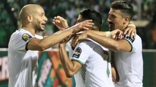 المنتخب الجزائري للنهائي الثالث في تاريخه.