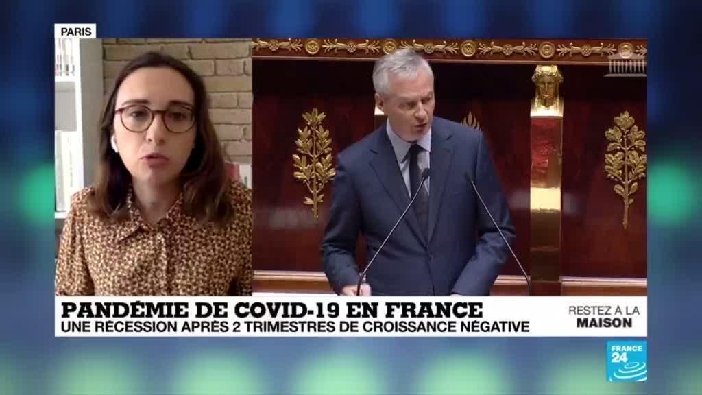 2020-04-08 11:00 Coronavirus : La France entre officiellement en récession