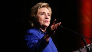 Hillary Clinton le 3 mai 2017 lors d'un gala à New York.
