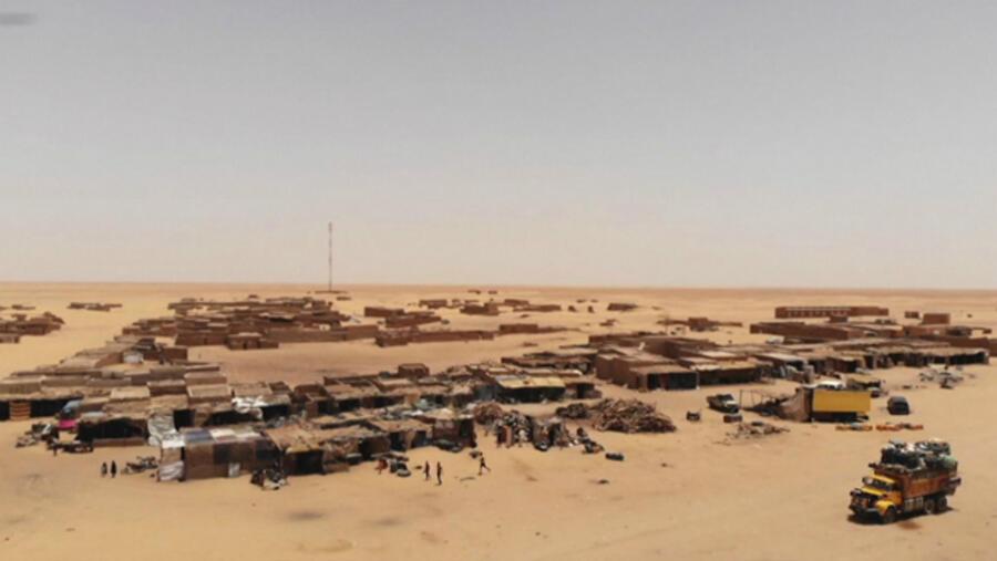 El Infierno De Los Migrantes En El Sahara