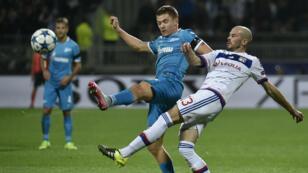 Les Lyonnais se sont inclinés contre le cours du jeu face au Zenith Saint-Pétersbourg.