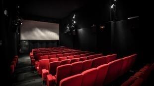 Une salle du cinéma Le Brady, à Paris, le 6 mai 2020