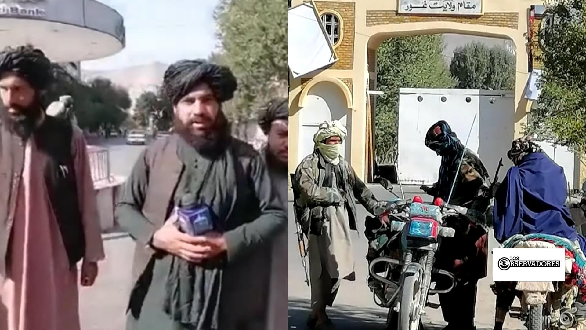 Observadores - afganos bajo el Talibán