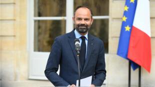 Le Premier ministre Édouard Philippe à Matignon, le 29 avril 2019.