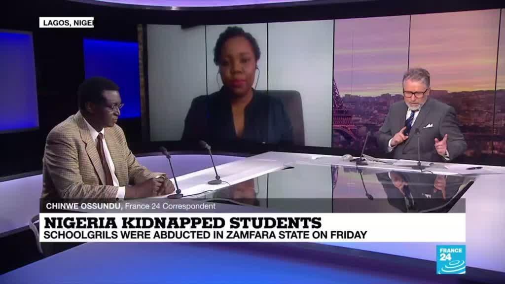2021-03-02 18:16 Nigeria kidnapped students: schoolgirls were abducted in Zamfara state